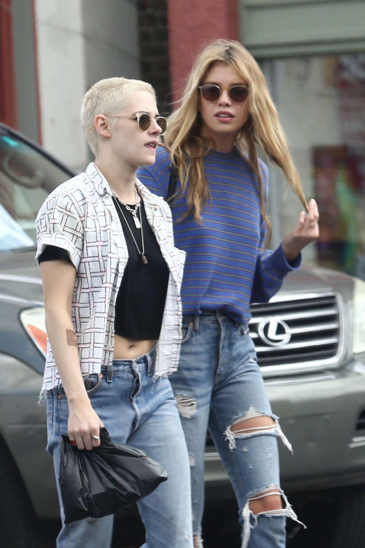 Kristen Stewart And Her Girlfriend Stella Maxwell Out In