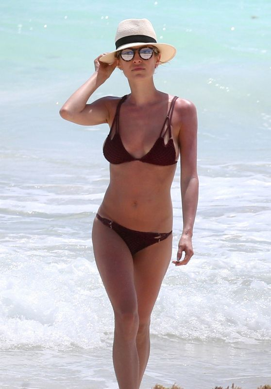 Kristin Cavallari in Bikini at a Beach in Mexico 3/26/ 2017