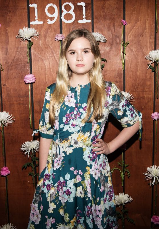 Kyla Kenedy – GUESS 1981 Fragrance Launch in Los Angeles 3/21/ 2017