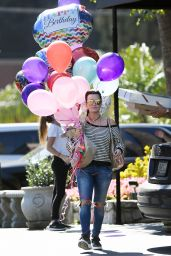 Kyle Richards at Her Daughter