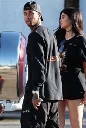 Kylie Jenner and Tyga at Kabuki Restaurant in Los Angeles 3/13/ 2017