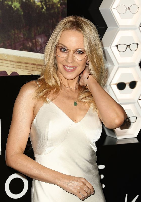 Kylie Minogue - Specswear Eyewear Collection in Sydney 3/7/ 2017
