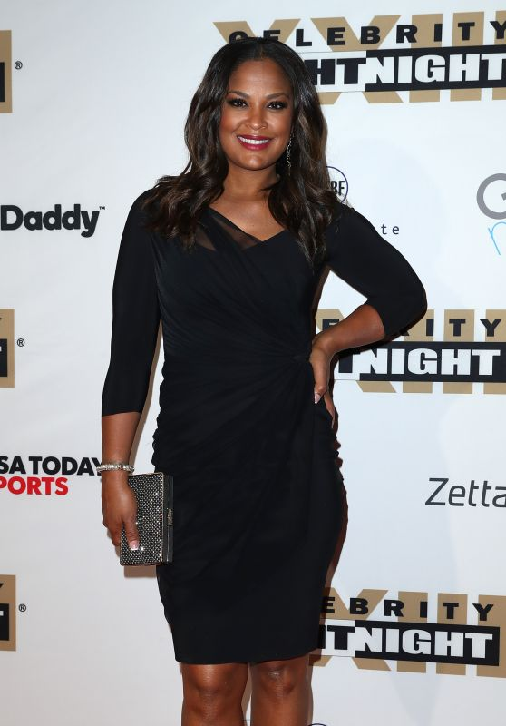 Laila Ali at Muhammad Ali's Celebrity Fight Night in Arizona 3/18/ 2017