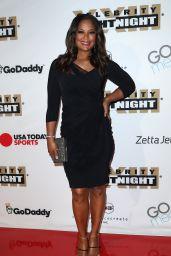 Laila Ali at Muhammad Ali's Celebrity Fight Night in Arizona 3/18/ 2017