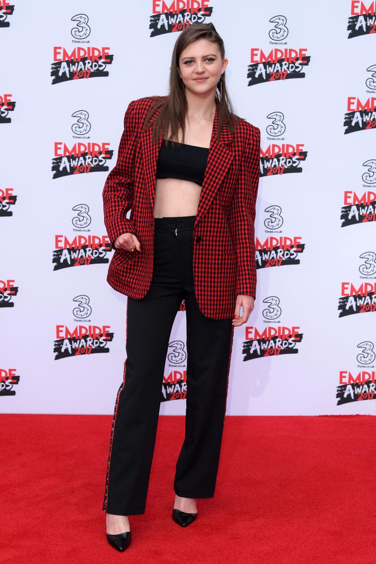 Lara Peake On Red Carpet Three Empire Awards In London 3