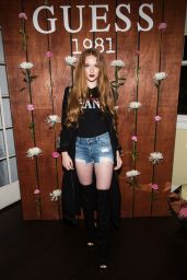 Larsen Thompson – GUESS 1981 Fragrance Launch in Los Angeles 3/21/ 2017