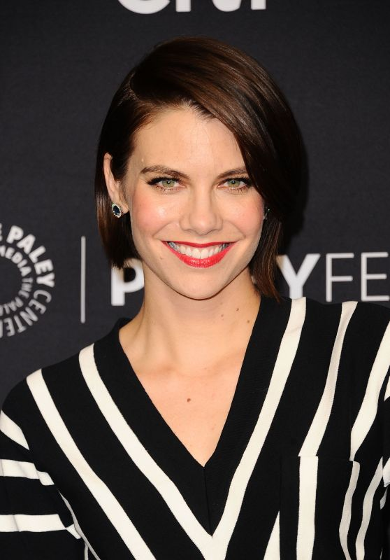 Lauren Cohan – 'The Walking Dead' Presentation at PaleyFest in LA 3/17/ 2017