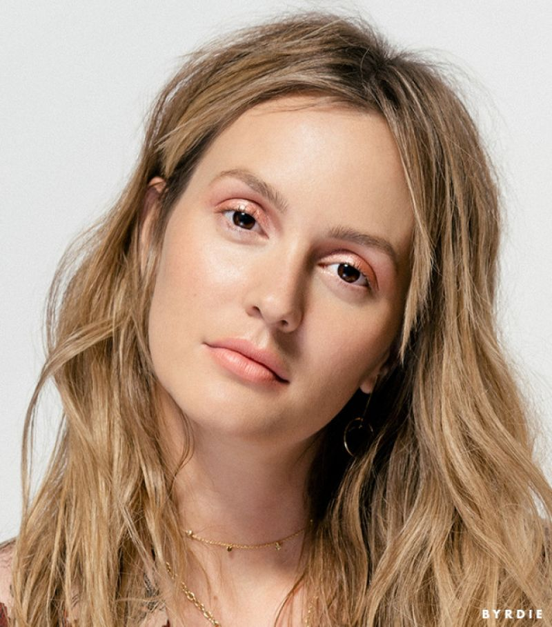 Leighton Meester Photoshoot For Byrdie February 2017