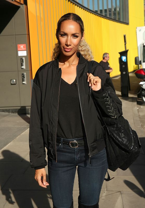 Leona Lewis - Outside the MTV Studios in London 3/13/ 2017