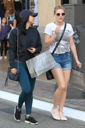 Lili Reinhart & Camila Mendes - Shopping at The Grove 3/25/ 2017