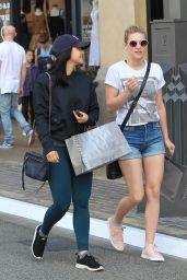 Lili Reinhart & Camila Mendes - Shopping at The Grove 3/25/ 2017