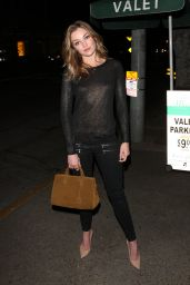 Lili Simmons at Madeo Restaurant in West Hollywood 3/9/ 2017