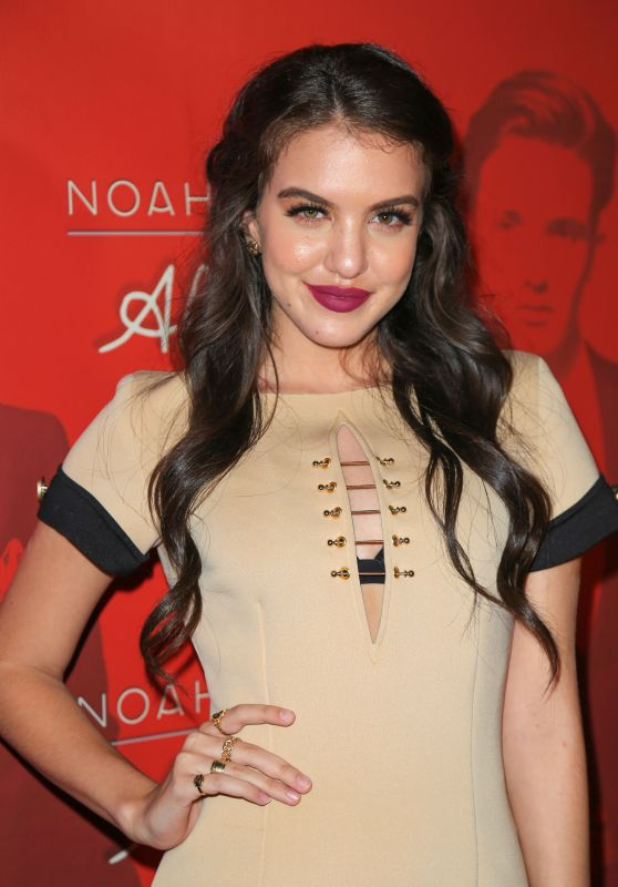 Lilimar Hernandez at Noah Urrea's 16th Birthday Celebration in Hollywood 3/26/2017