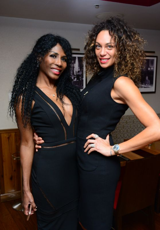 Lilly Becker & Sinitta - Beth Jones Hosts an Intimate VIP Dinner in London 2/28/ 2017