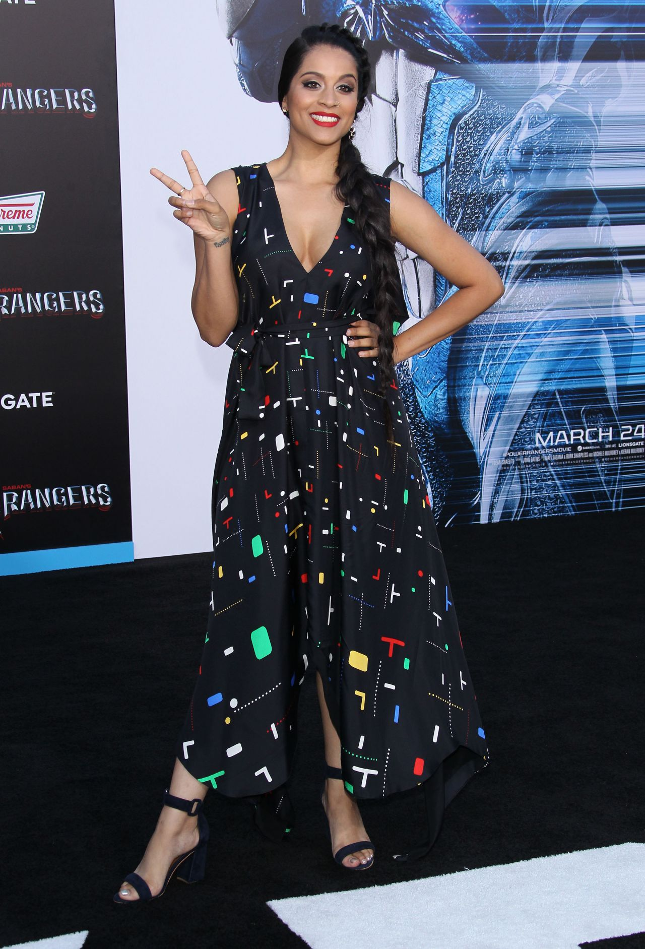 Lilly Singh Power Rangers Premiere In Los Angeles 3 22