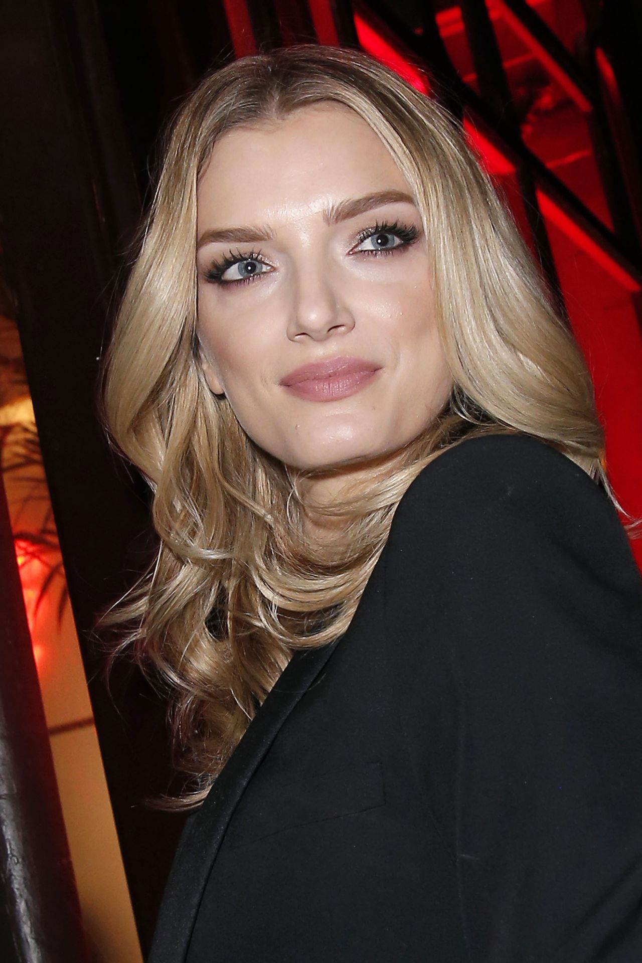 Lily Donaldson at the L'Oreal Dinner at Le Grand Colbert ...