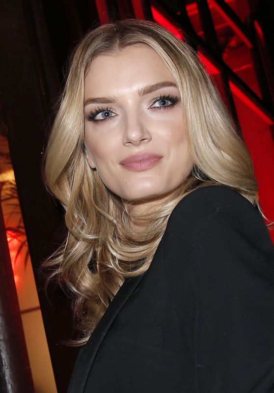 Lily Donaldson at the L'Oreal Dinner at Le Grand Colbert in Paris 3/5/ 2017