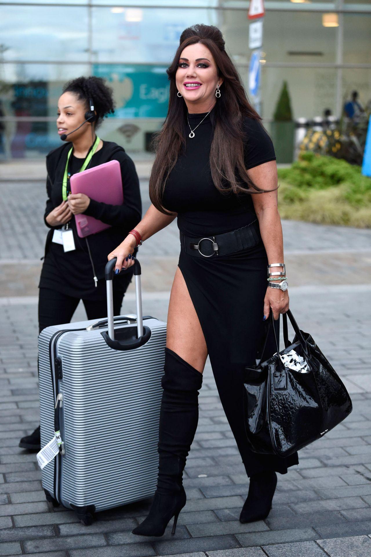 Lisa Appleton Amp Lisa Jeynes Leaving The Jeremy Kyle Show At Media City In Manchester 3 11 2017