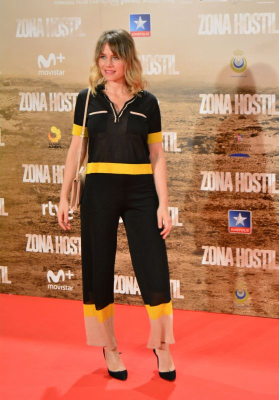 Lisi Linder – 'Zona Hostil' Premiere in Madrid 3/9/ 2017
