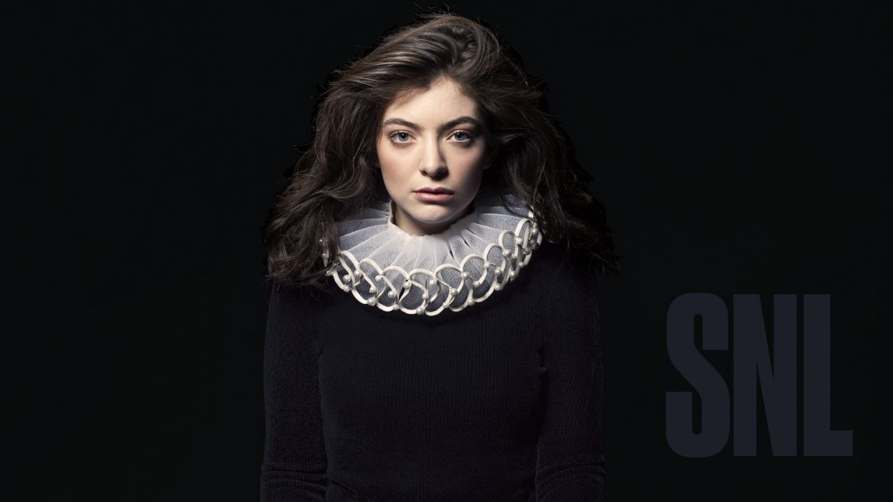 Lorde - Photoshoot for Saturday Night Live March 2017