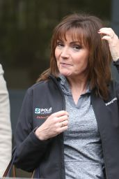 Lorraine Kelly - Outside ITV Studios in London 3/20/ 2017