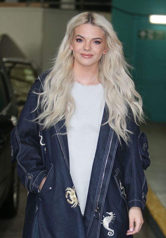 Louisa Johnson - Outside ITV Studios in London 3/22/ 2017