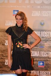 Lucia Hoyos – 'Zona Hostil' Premiere in Madrid 3/9/ 2017