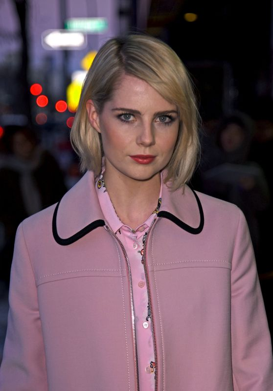 "Lucy Boynton - ""The Blackcoat"