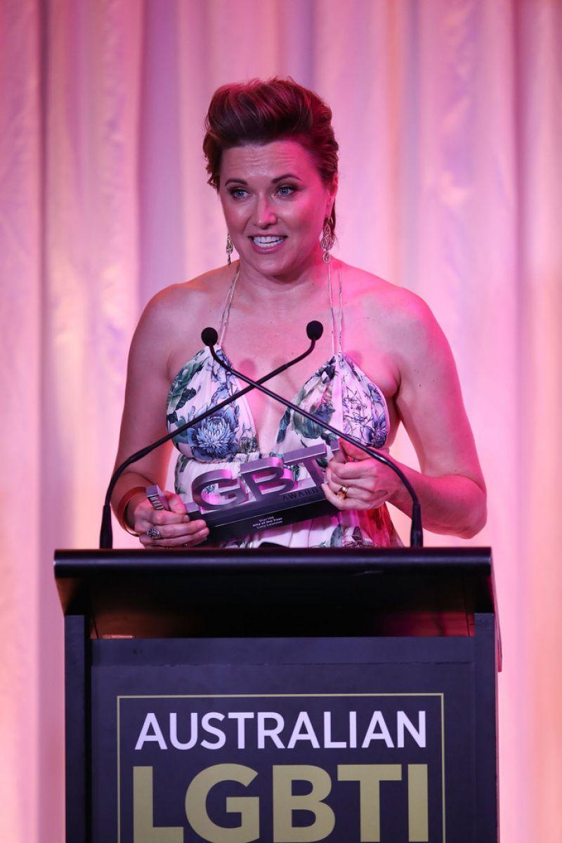 Lucy Lawless Australian Lgbti Awards 2017 At Sydney
