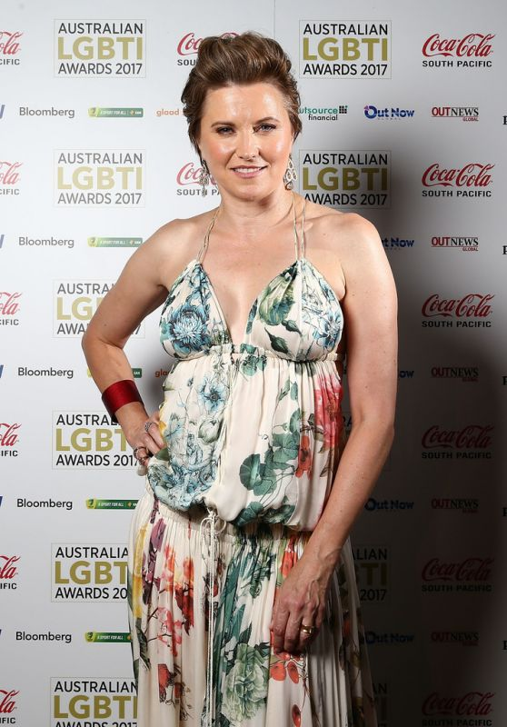 Lucy Lawless - Australian LGBTI Awards 2017 at Sydney Opera House 3/2/ 2017