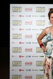 Lucy Lawless - Australian LGBTI Awards 2017 at Sydney Opera House 3/2/ 2017