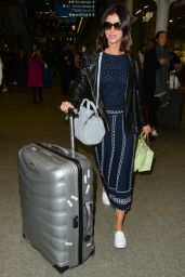 Lucy Mecklenburgh Arriving at St Pancras Station After Catching the Eurostar From Paris 3/8/ 2017