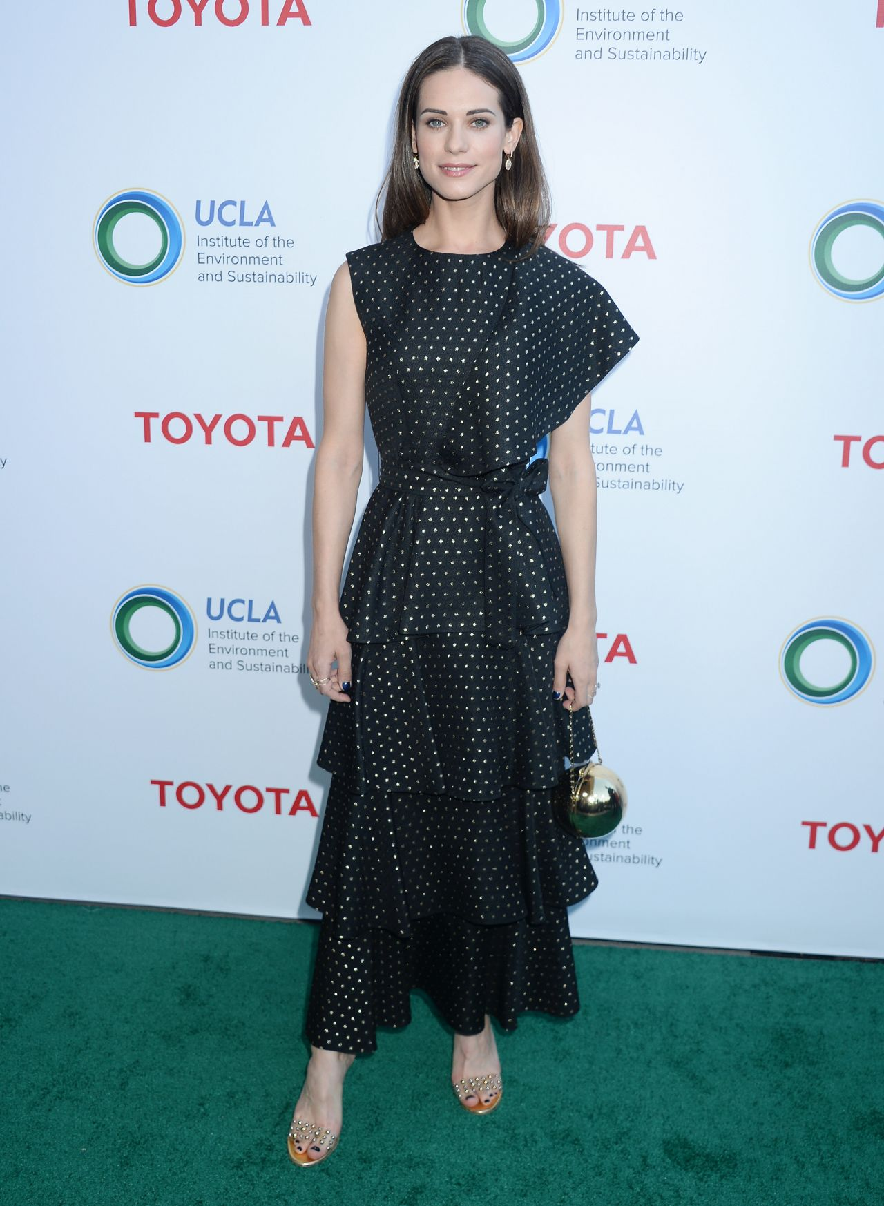 Lyndsy Fonseca – UCLA Institute of the Environment and Sustainability Gala in Los Angeles 3/13/ 2017