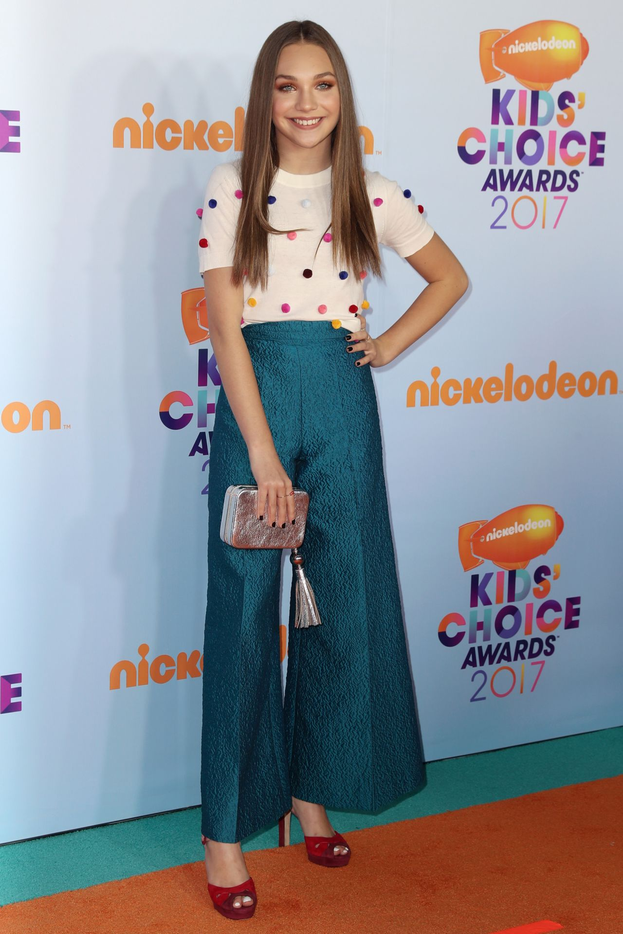 Maddie Ziegler Nickelodeon S Kids Choice Awards In Los