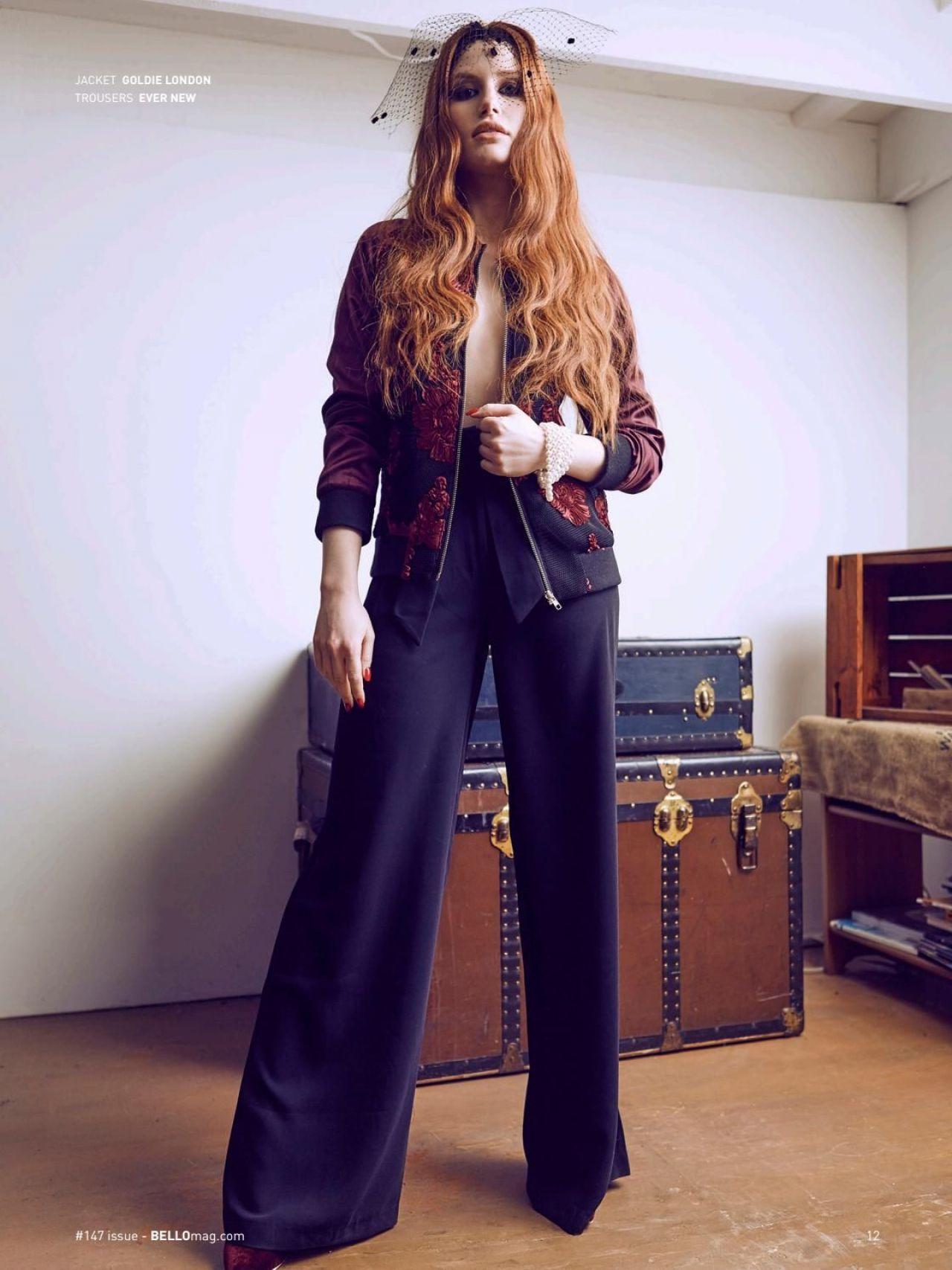 Madelaine Petsch Bello Magazine March 2017 Issue