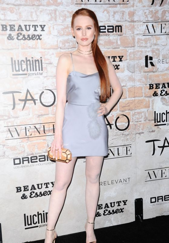 Madelaine Petsch – TAO, Beauty + Essex, Avenue + Luchini LA Grand Opening 3/16/ 2017