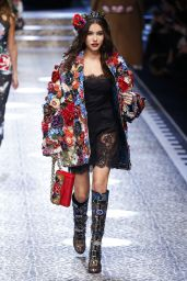 Madison Beer - Walks in the Dolce & Gabbana Show at Milan Fashion Week, February 2017