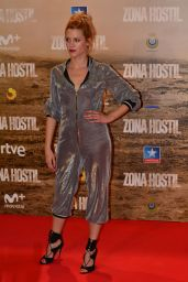 Maggie Civantos – 'Zona Hostil' Premiere in Madrid 3/9/ 2017