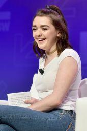 Maisie Williams - SXSW Game of Thrones Panel in Austin 3/12/ 2017
