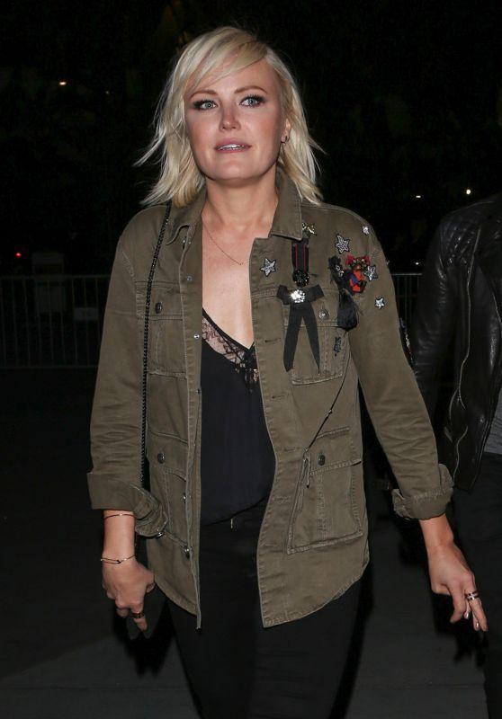 Malin Akerman - Arrives at the Staples Center in Los Angeles 3/7/ 2017