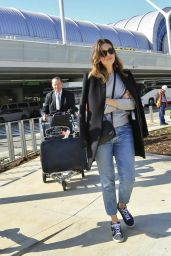 Mandy Moore at LAX Airport 3/13/ 2017