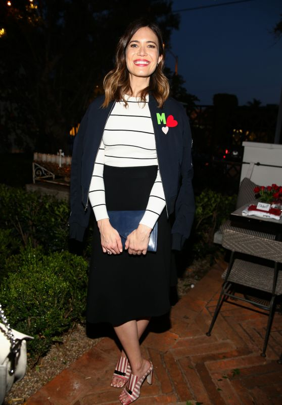 Mandy Moore - FashionABLE Equal Pay Day Kick-Off Dinner in LA 3/29/2017