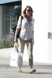 Marg Helgenberger Casual Style - Shopping at Splendid in Santa Monica 3/11/ 2017