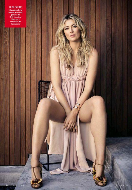 Maria Sharapova - VF Magazine Spain - April 2017 Issue