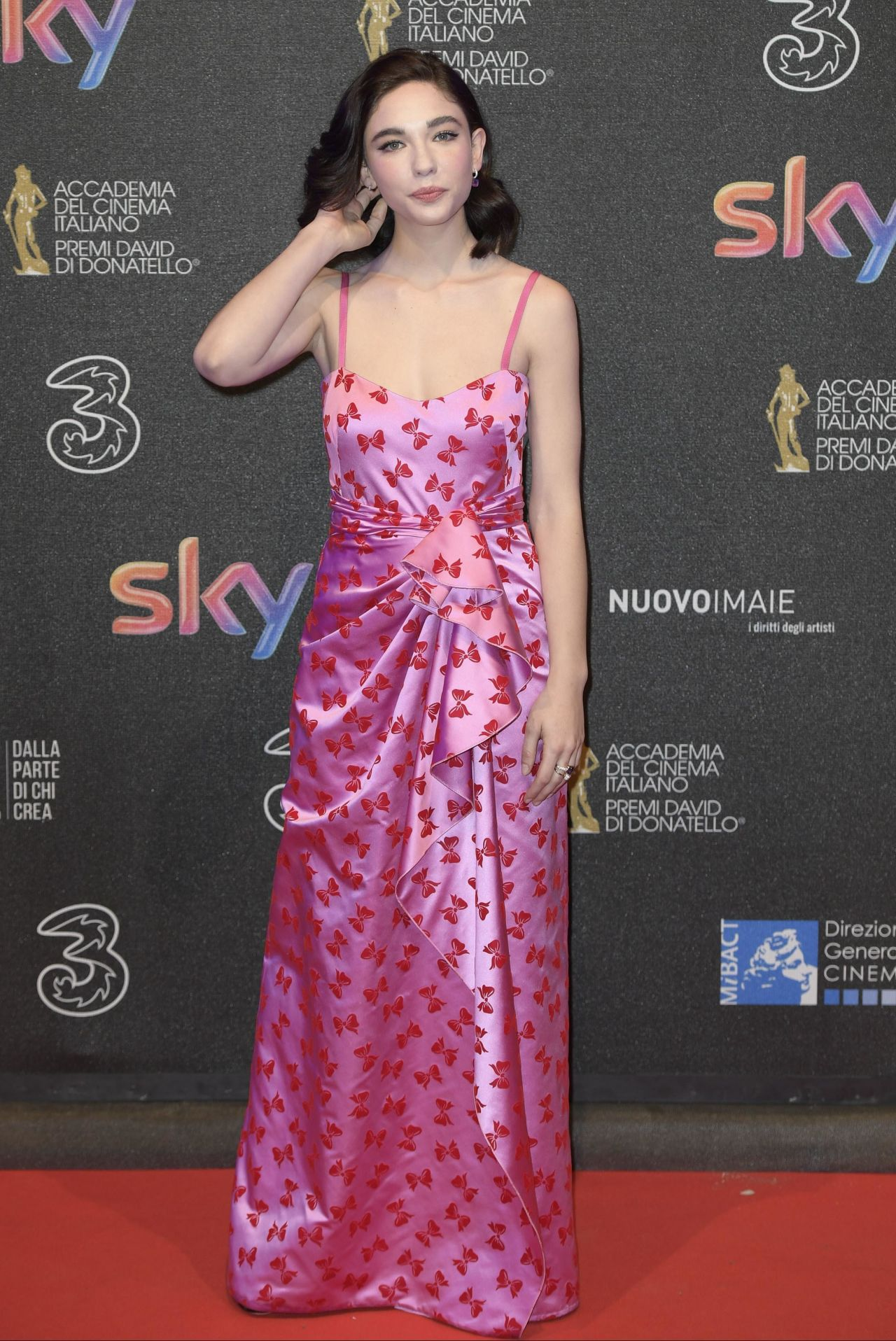 Matilda De Angelis at the 2017 David di Donatello Awards