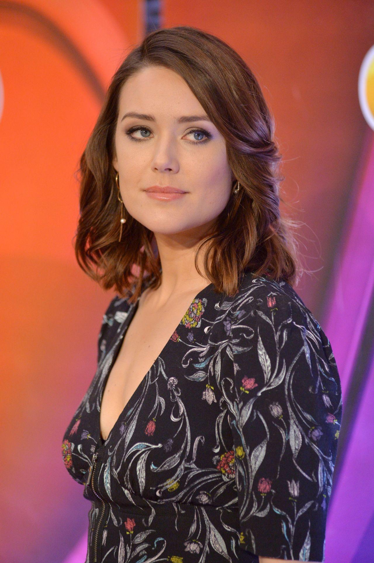 Megan Boone - NBC Mid Season Press Day in New York 3/2