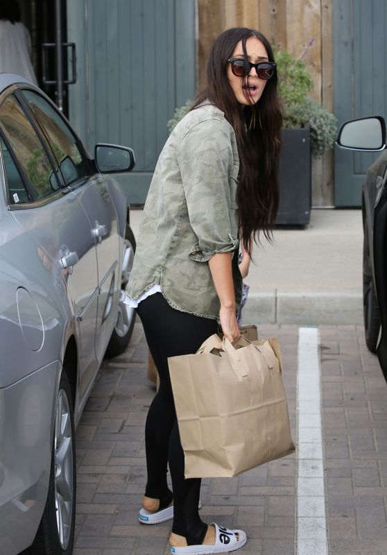 Megan Fox - Shopping in Malibu 3/19/ 2017