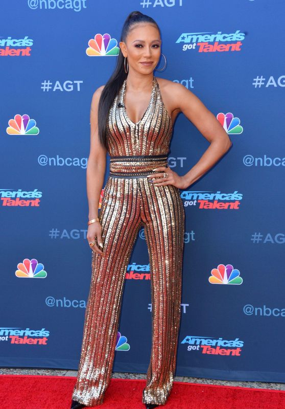 Melanie Brown on Red Carpet - America