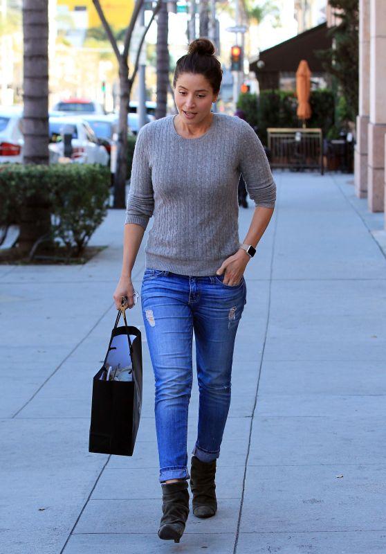 Mercedes Masohn Street Style - Beverly Hills 2/28/ 2017