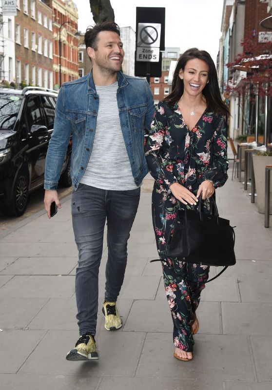Michelle Keegan Casual Style - London 3/28/2017